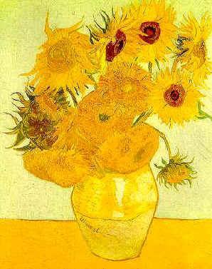 Los girasoles de Van Gogh eran mutantes