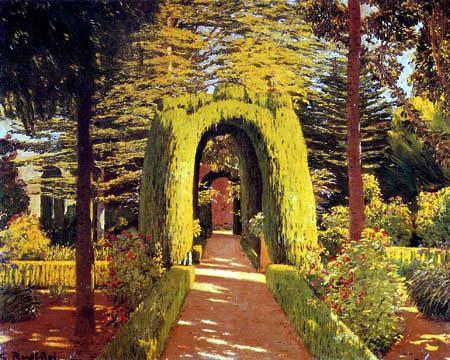 Santiago rusi ol el pintor de los jardines for Los jardines de aranjuez