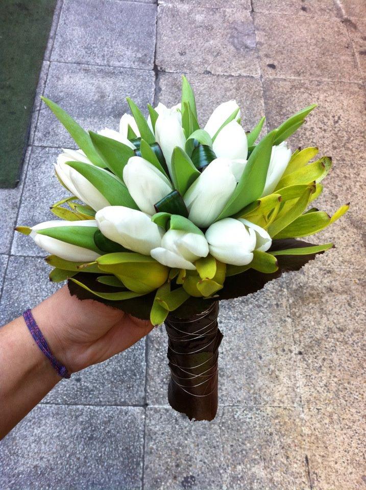 El tulipán, una buena elección para las novias