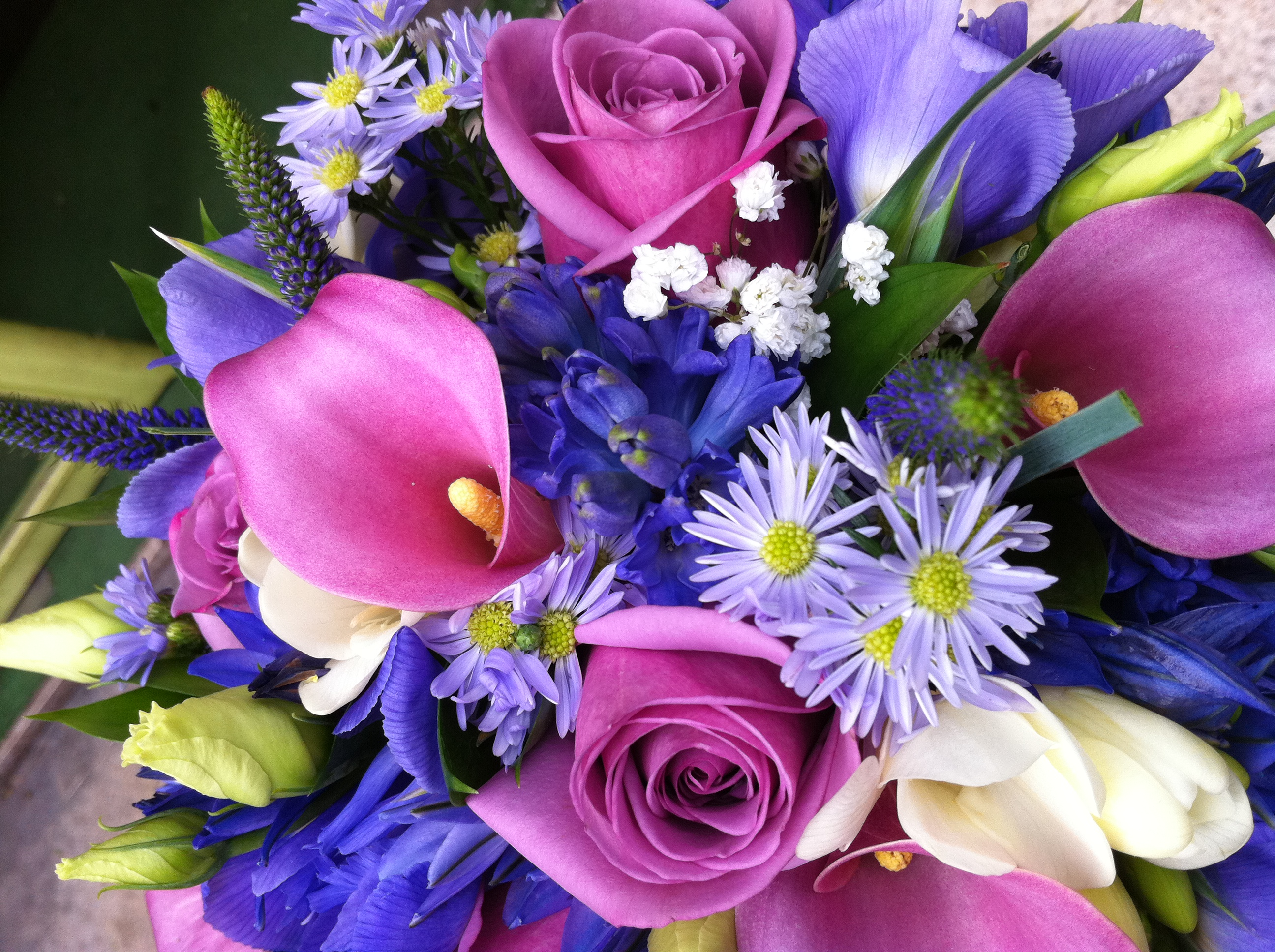 Un ramo lleno de color for Cuarto lleno de rosas