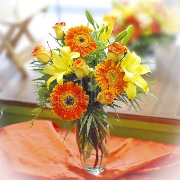 Jarrones de flores para el verano - Fotos jarrones con flores ...