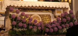 Centros situados frente al altar
