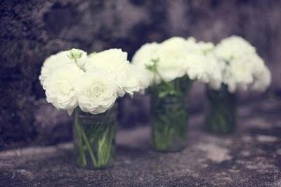 Divide un bouquet en varios recipientes
