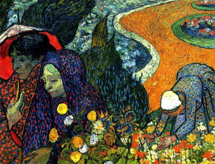 Recuerdo del Jardín de Etten de Vincent van Gogh