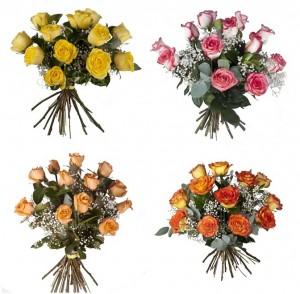 bouquet 4 colores