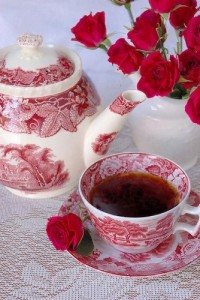 desyuno con rosas