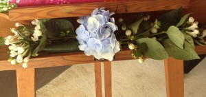 decoracion floral seating
