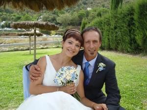 ramo de novia novios