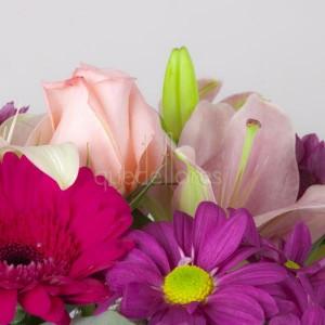 detalle ramo de flores