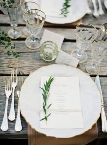 menu con olivo