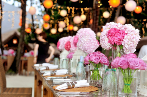 decoracion para bodas en otoño