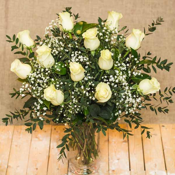 Ramo De Rosas Blancas - Imagenes-de-ramos-de-rosas-blancas