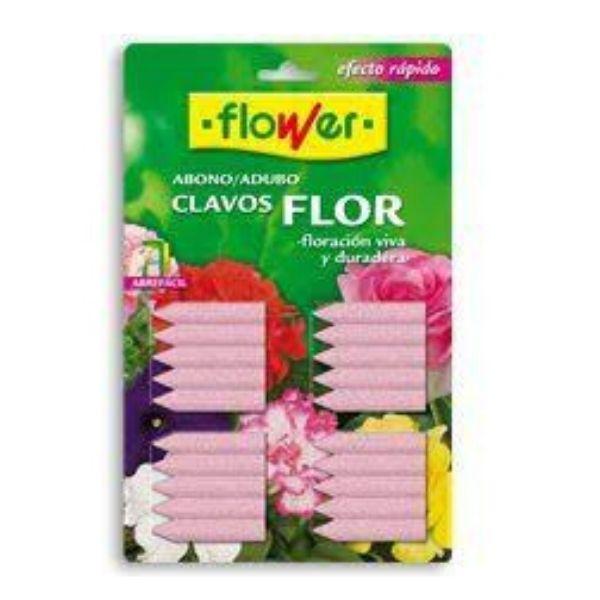Abono clavo flores