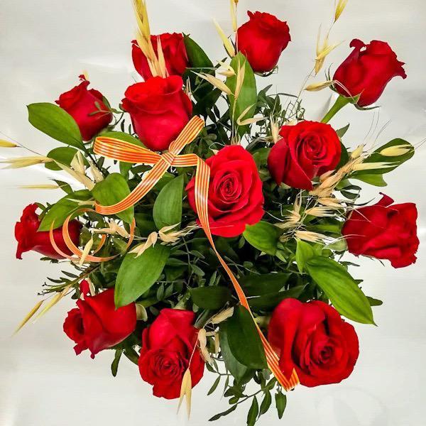 Bouquet de Rosas Rojas Especial Sant Jordi