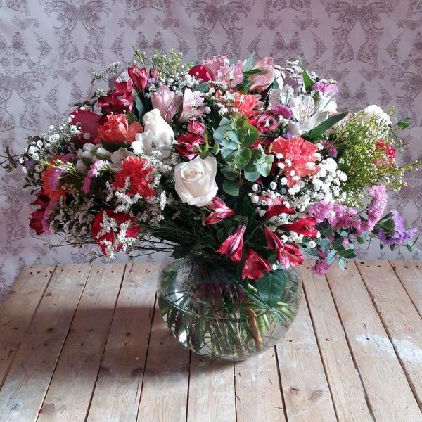 Pecera de Flores