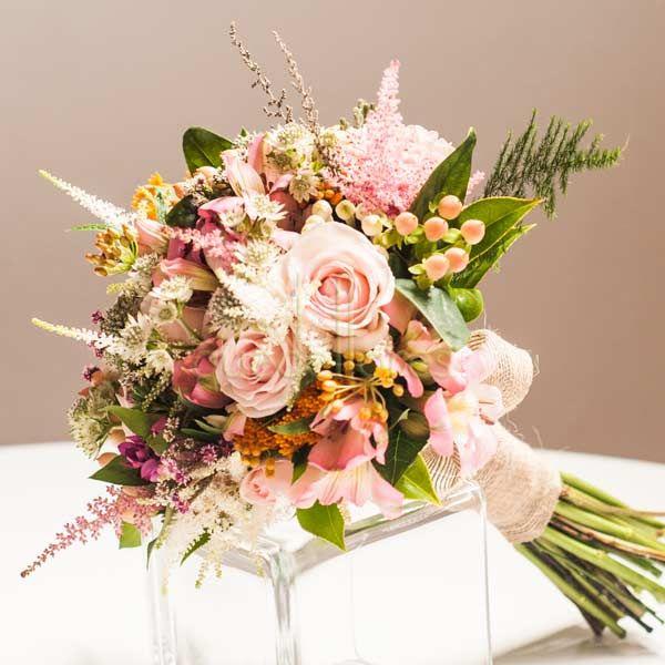 Bouquet de novia Sauvage