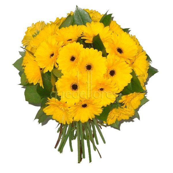 Bouquet de gerberas amarillas