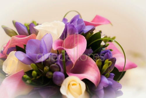 Bouquet de novia Malva