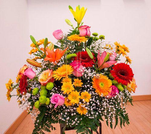 Centro Santos flores variadas