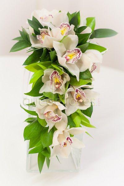 Ramo de novia Cascada Orquídeas