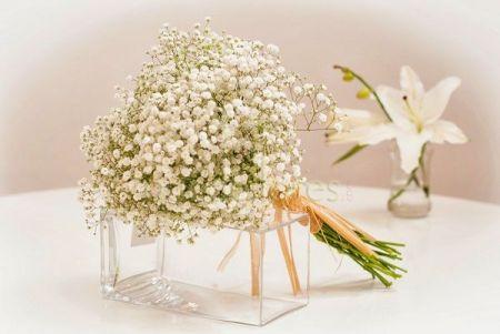 Bouquet de novia Gypsophilia