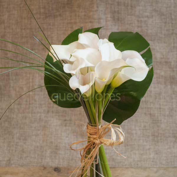 Calas flores todo el a o - Ramos de calas para novias ...