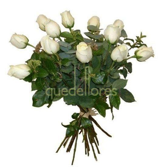 Ramo Clasico de rosas blancas