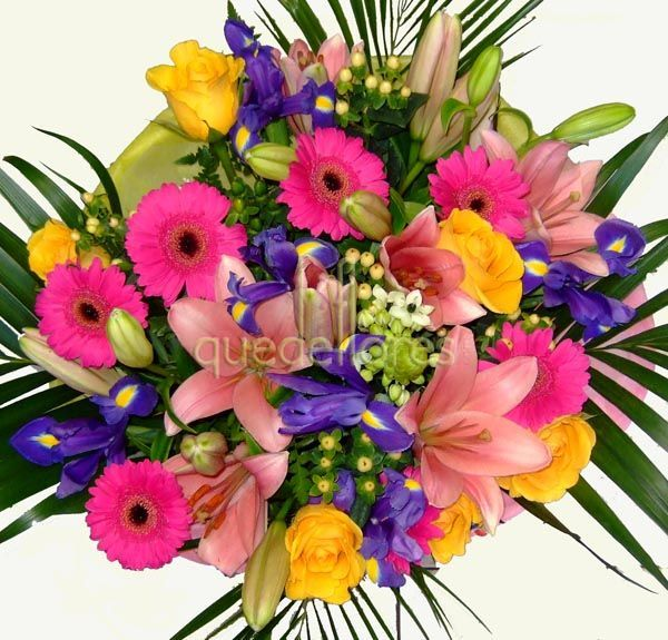 Ramo de flores fiesta