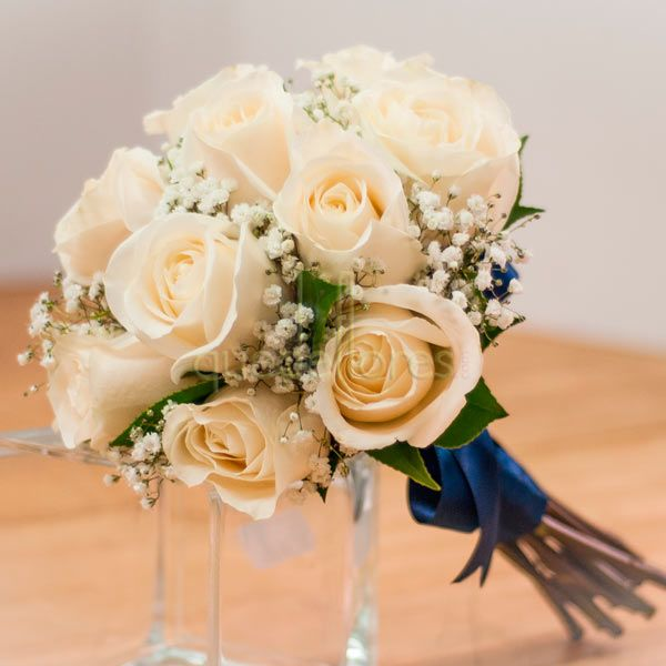 Bouquet de novia 12 Rosas