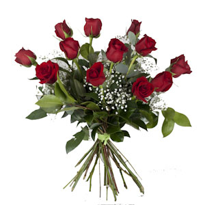 Bouquet de Rosas Rojas.