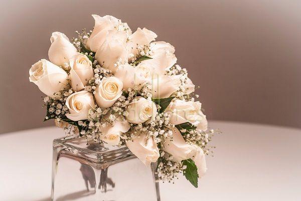 Ramo de novia Cascada Solo Rosas