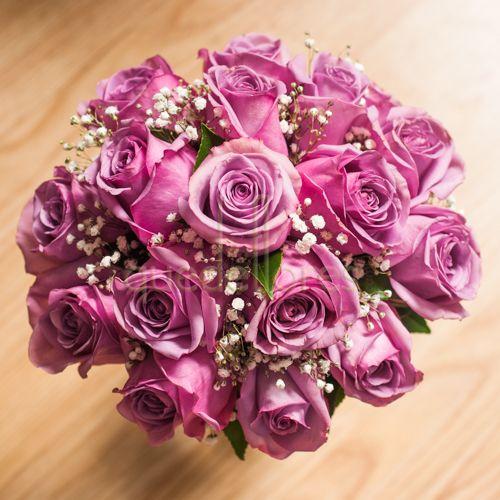 Bouquet de novia Morado