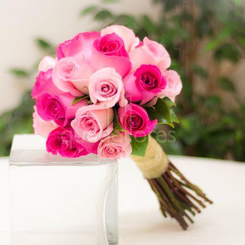 Bouquet de novia Variado de Rosas